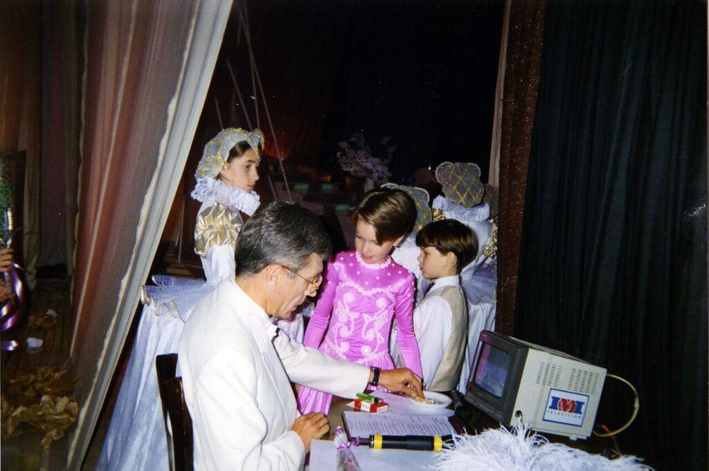 Николаев - утренняя звезда-крестный папа
